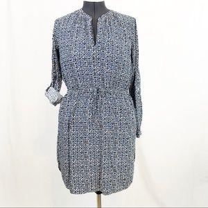 LOFT V-Neck Dress